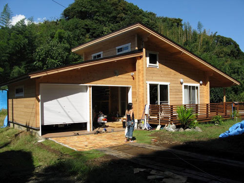 house with garage en k k建築設計 神奈川県海老名市